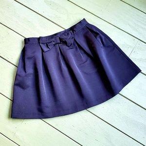 Bethany Mota Black Bow Skirt